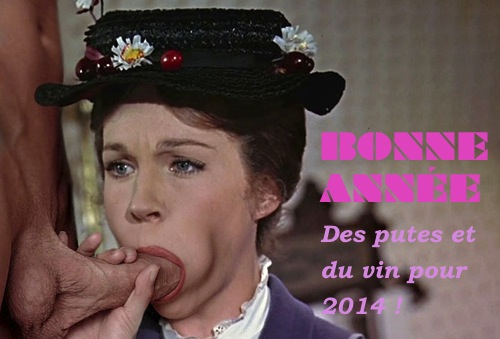 Mary poppins taille une pipe